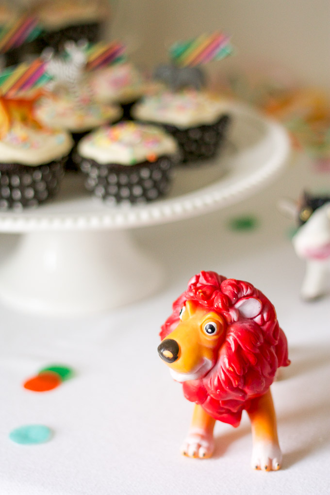 A timeless animal-themed birthday party