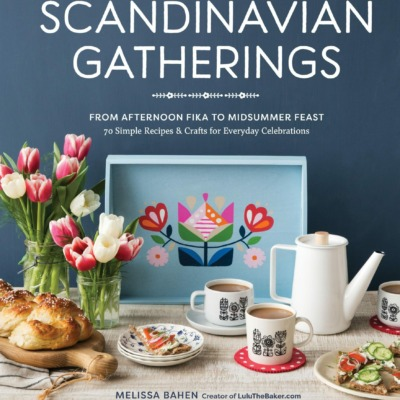 lulu the baker Scandinavian Gatherings book cover