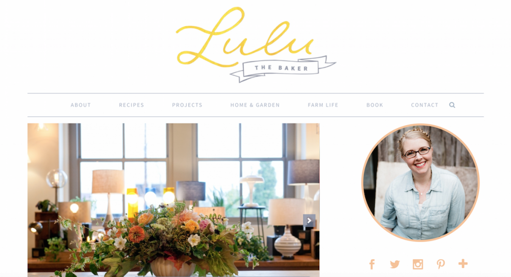 lulu the baker blog makeover