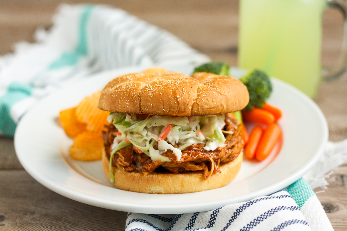 Barbecue Chicken Sandwiches - Lulu the Baker