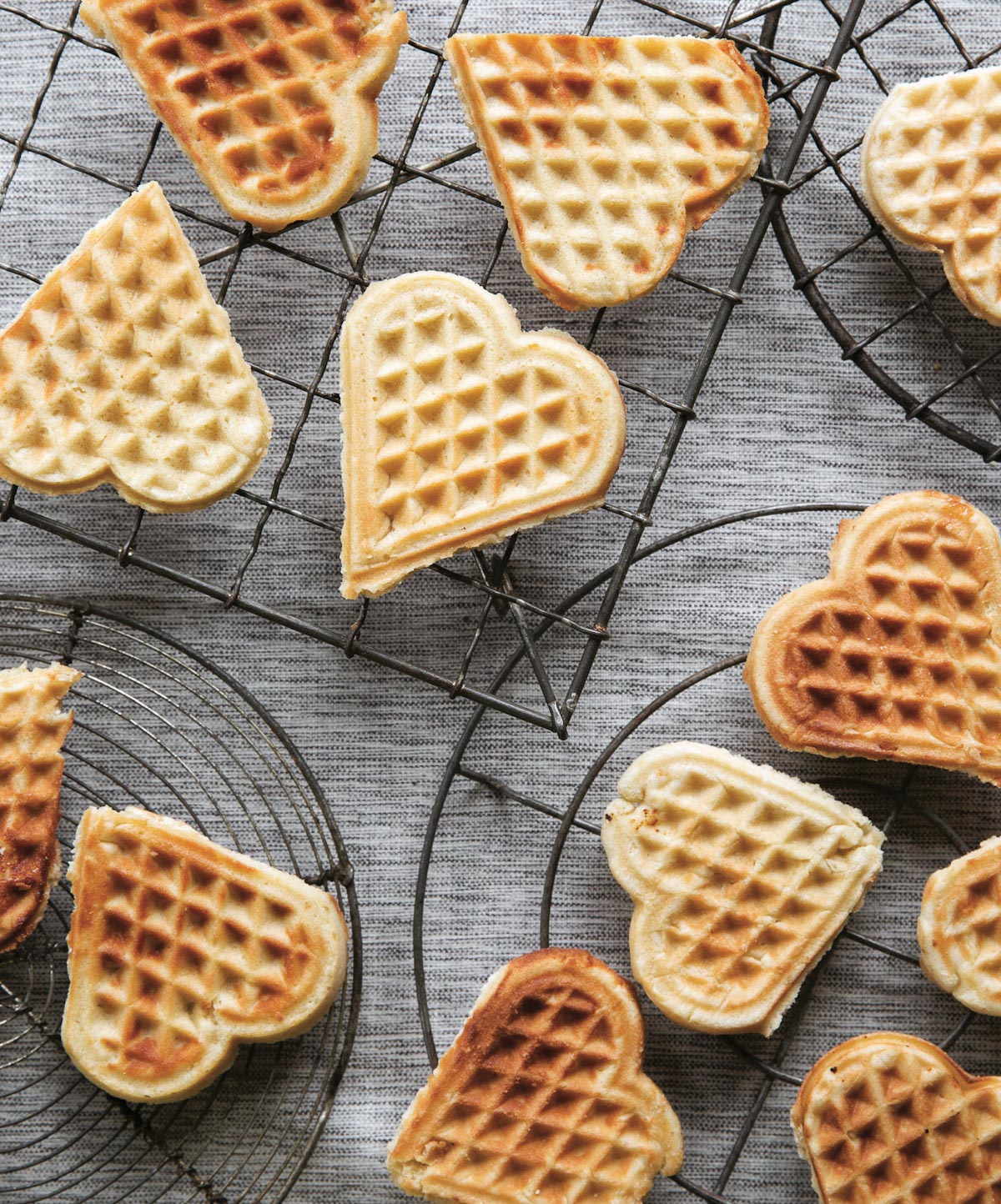 The recipe for these delicious waffle cookies is in Scandinavian Gatherings, which hits bookstore shelves September 27th. Preorder your copy now!