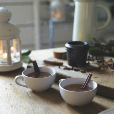 This spiced cider from Scandinavian Gatherings is perfectly hygge!