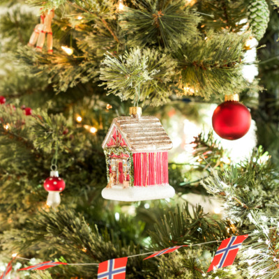 A Scandinavian Christmas tree