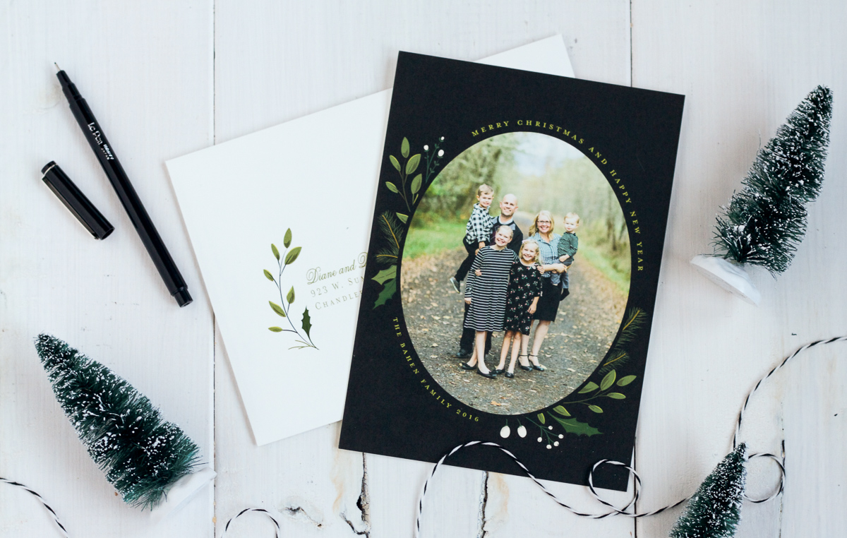 Order your gorgeous holiday cards from Minted!