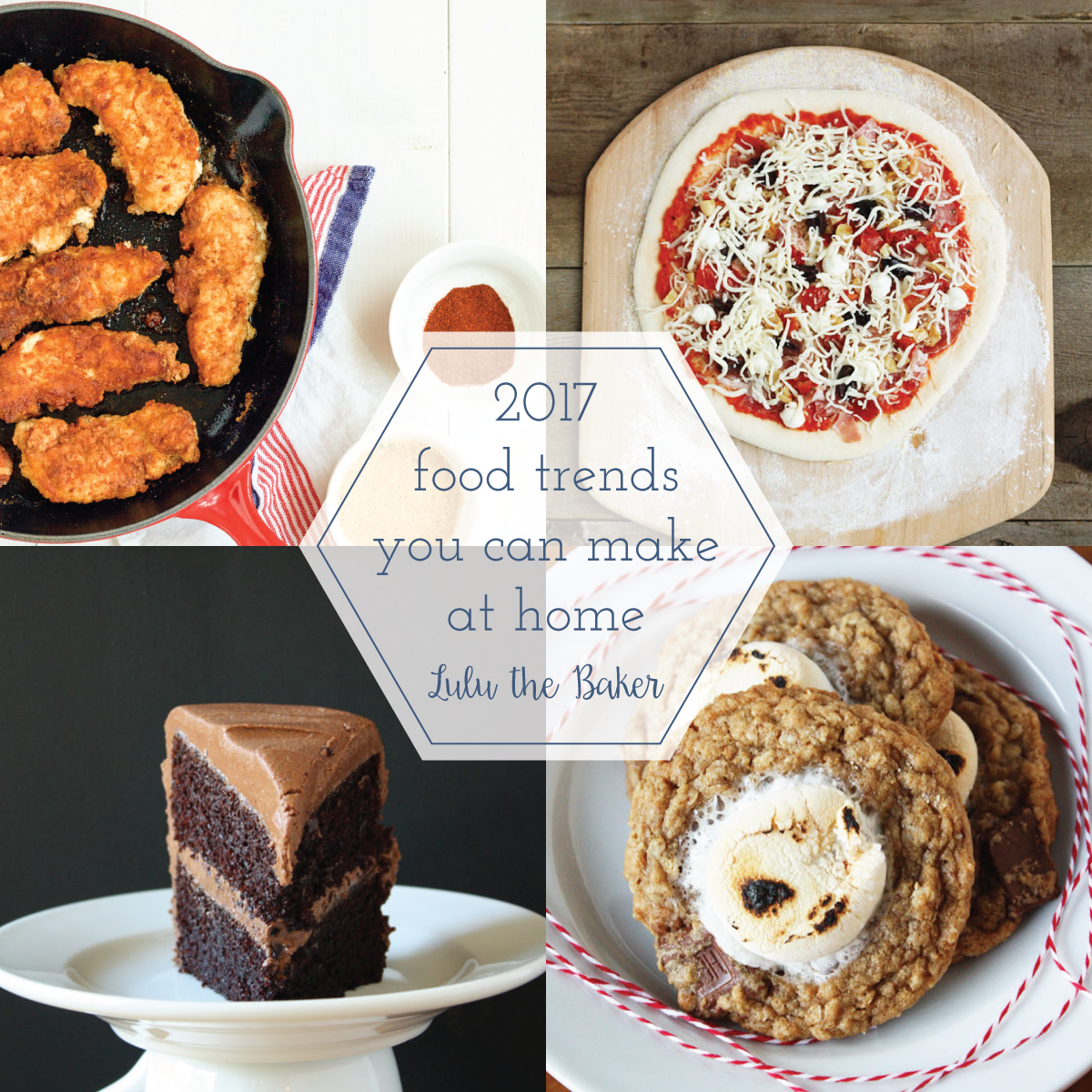 Jump on some of the hottest food trends of 2017 with these easy recipes!