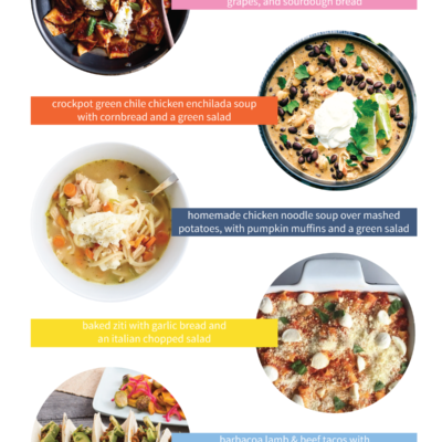 Need help planning easy weeknight dinners the whole family will love? Follow along with my Menu Ideas series, where I'll be sharing 5 family-friendly ideas for quick and delicious weeknight dinners.