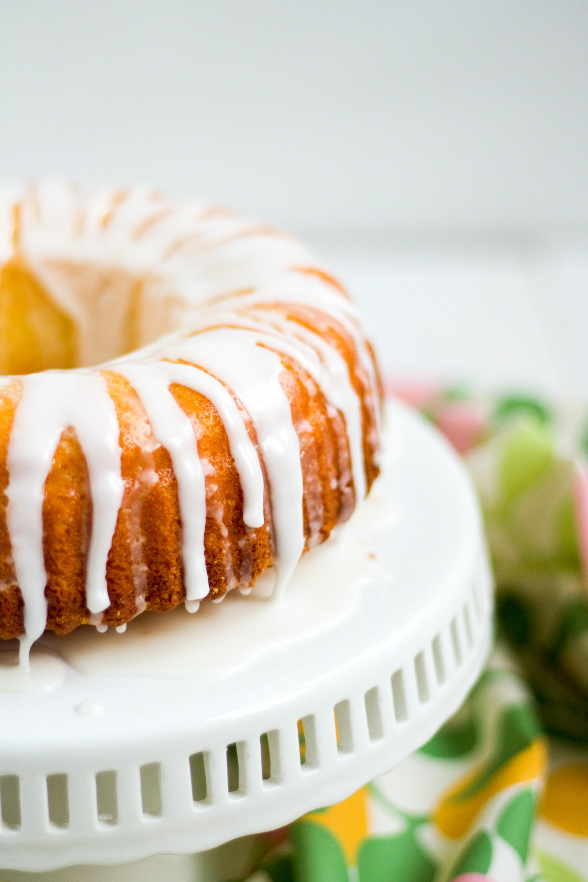 This simple and delicious lemon lime yogurt cake is a perfect weeknight dessert.