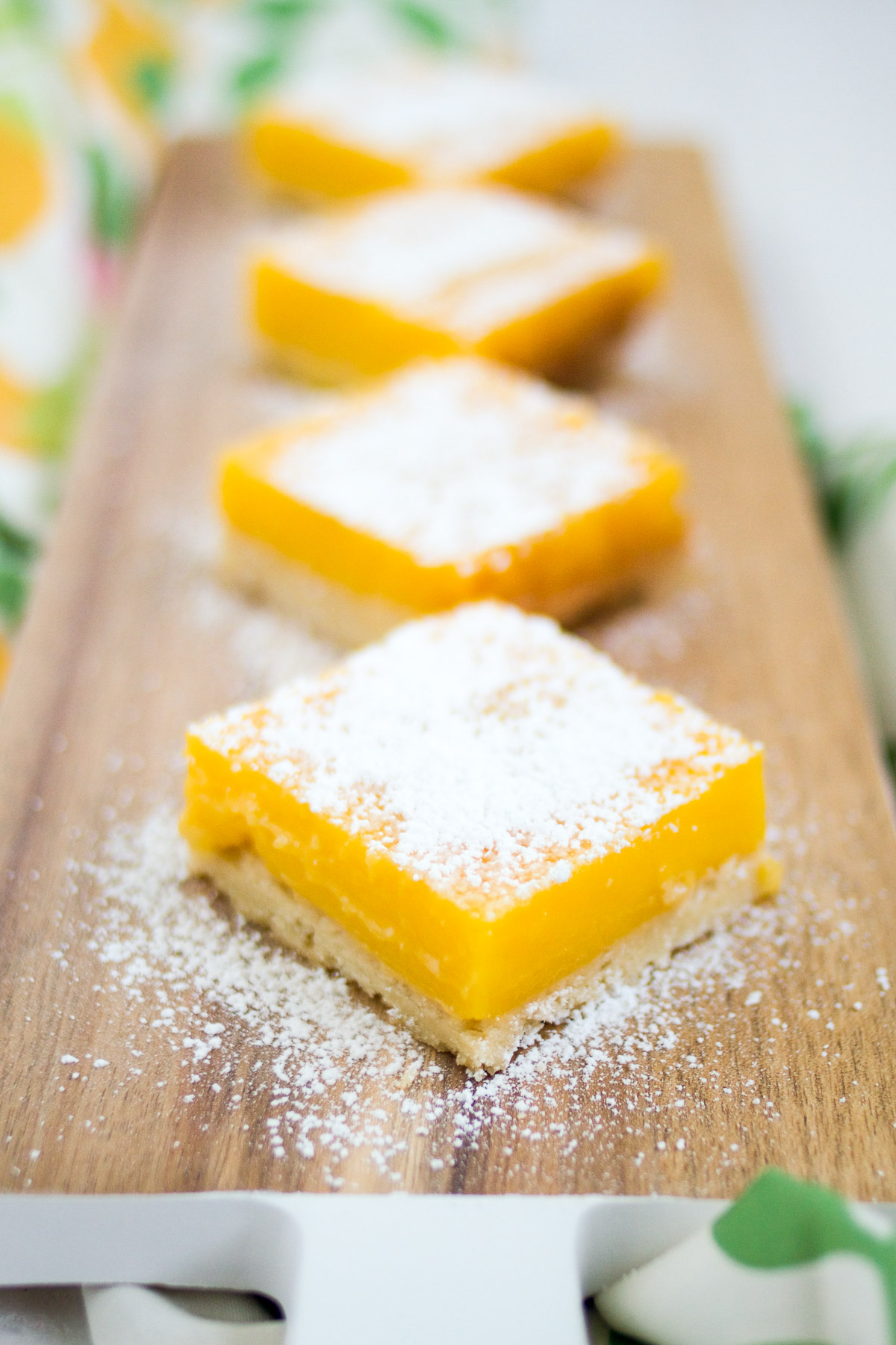 Make these amazing citrus bars with your favorite citrus fruit!