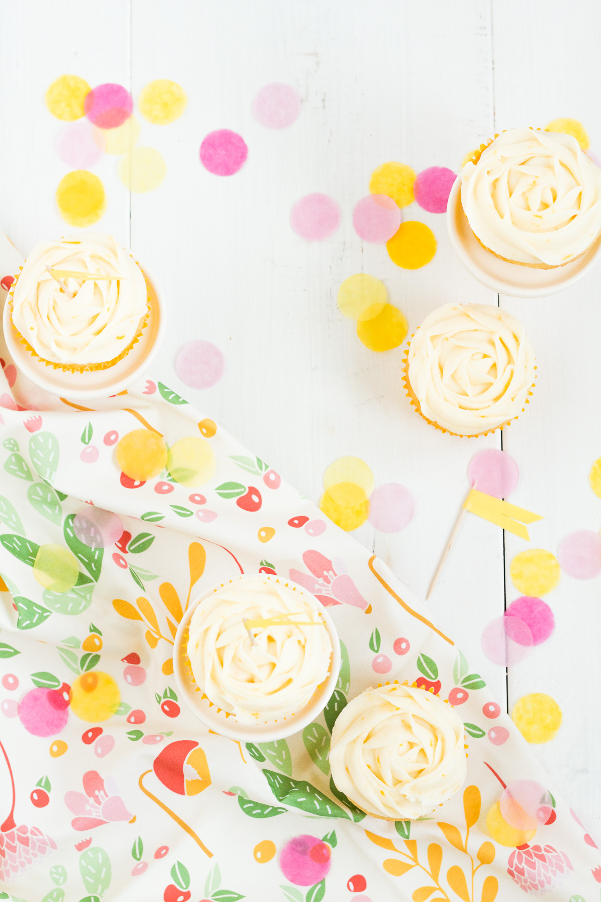 These meyer lemon cupcakes with meyer lemon buttercream and sweet, tart, and hard to resist!