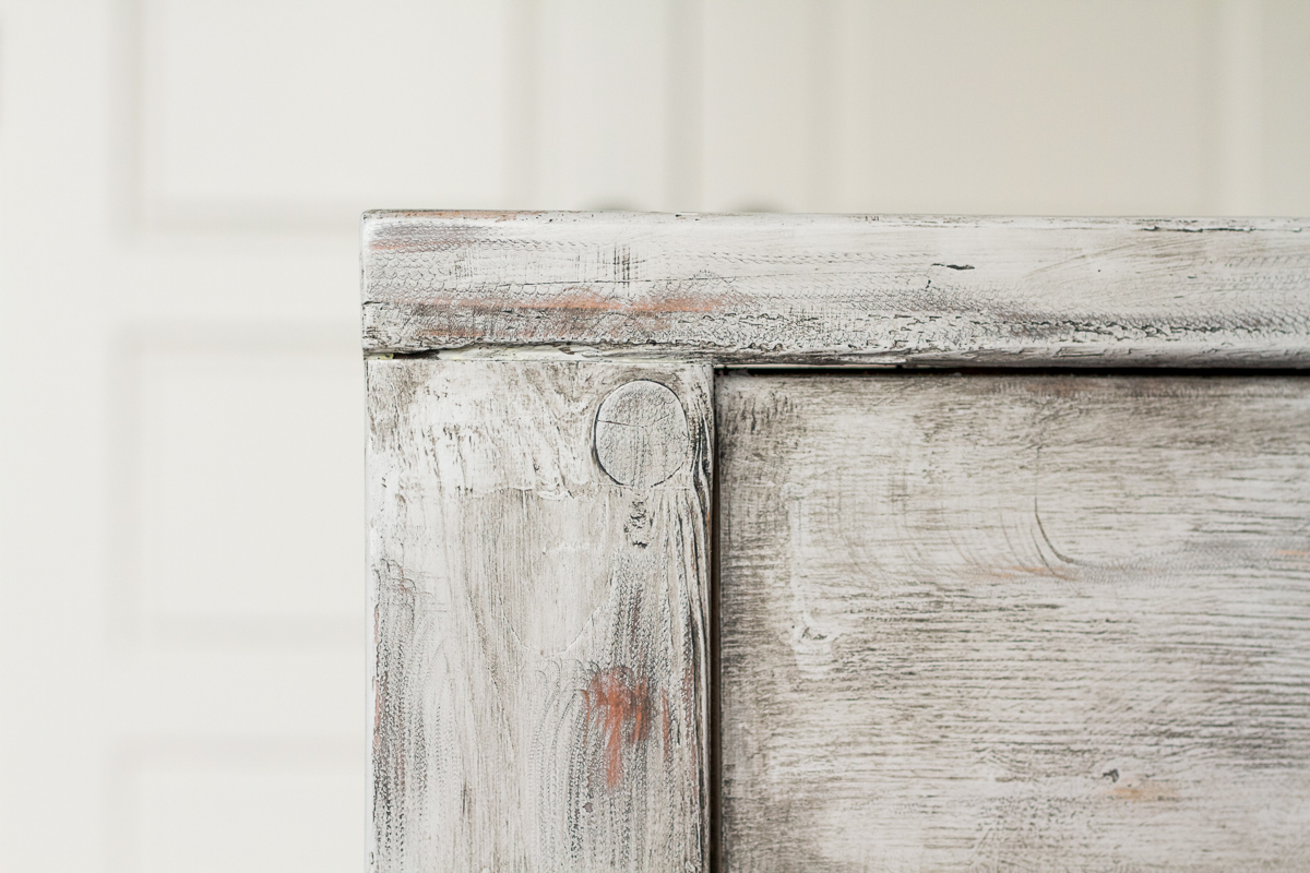 Find out how to use chalk paint and wax to get a rustic, weathered wood finish on new wood.