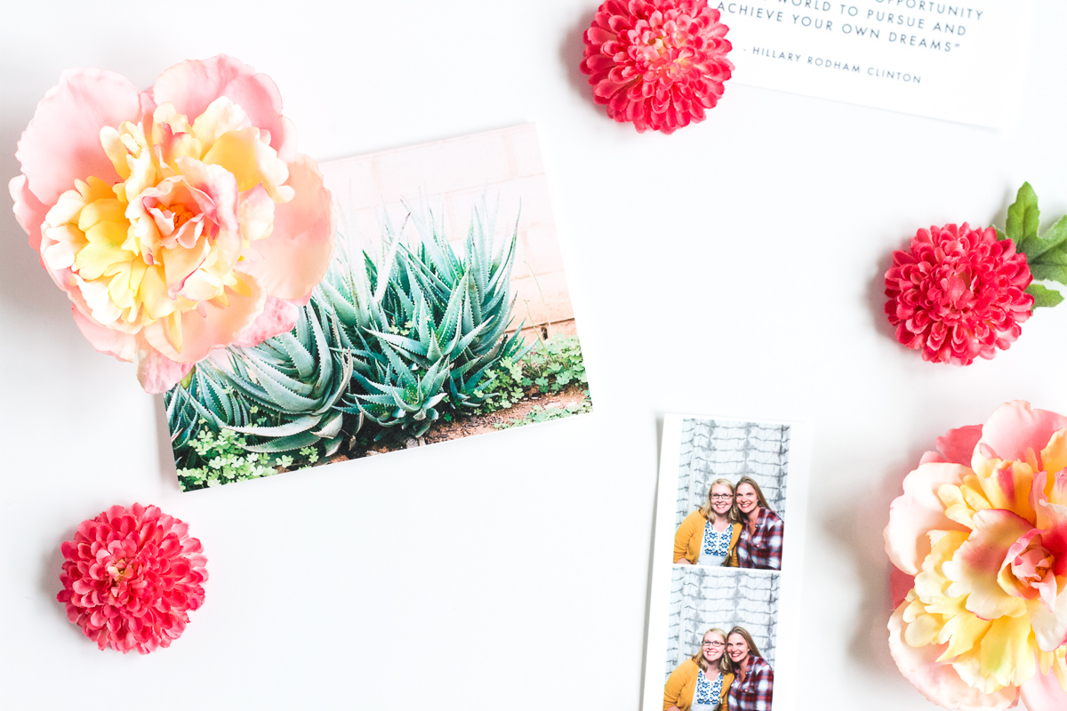 Make these easy Spring flower magnets