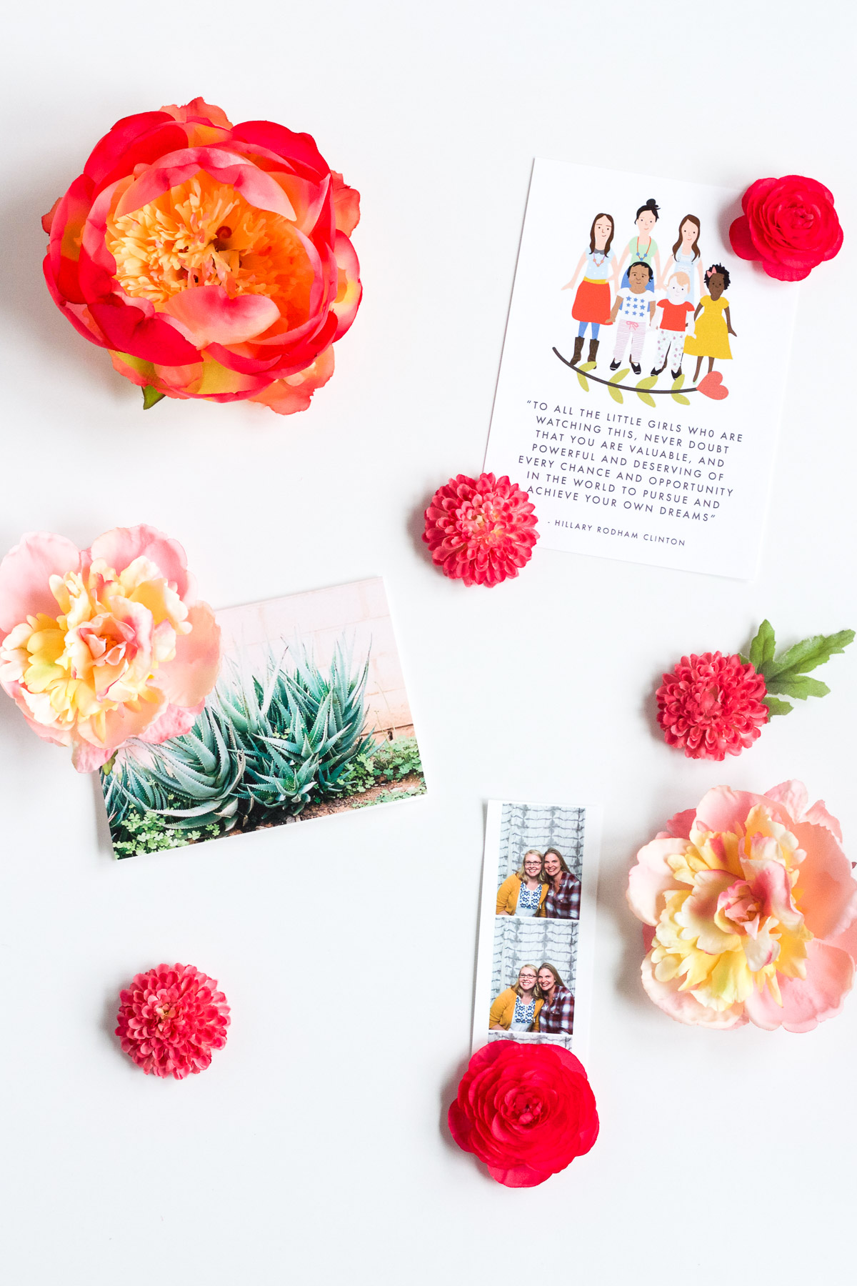 DIY Spring Flower Magnets