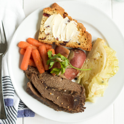 Homemade corned beef and cabbage is easier than you'd think, and absolutely delicious! Make some for St. Patrick's Day this year.