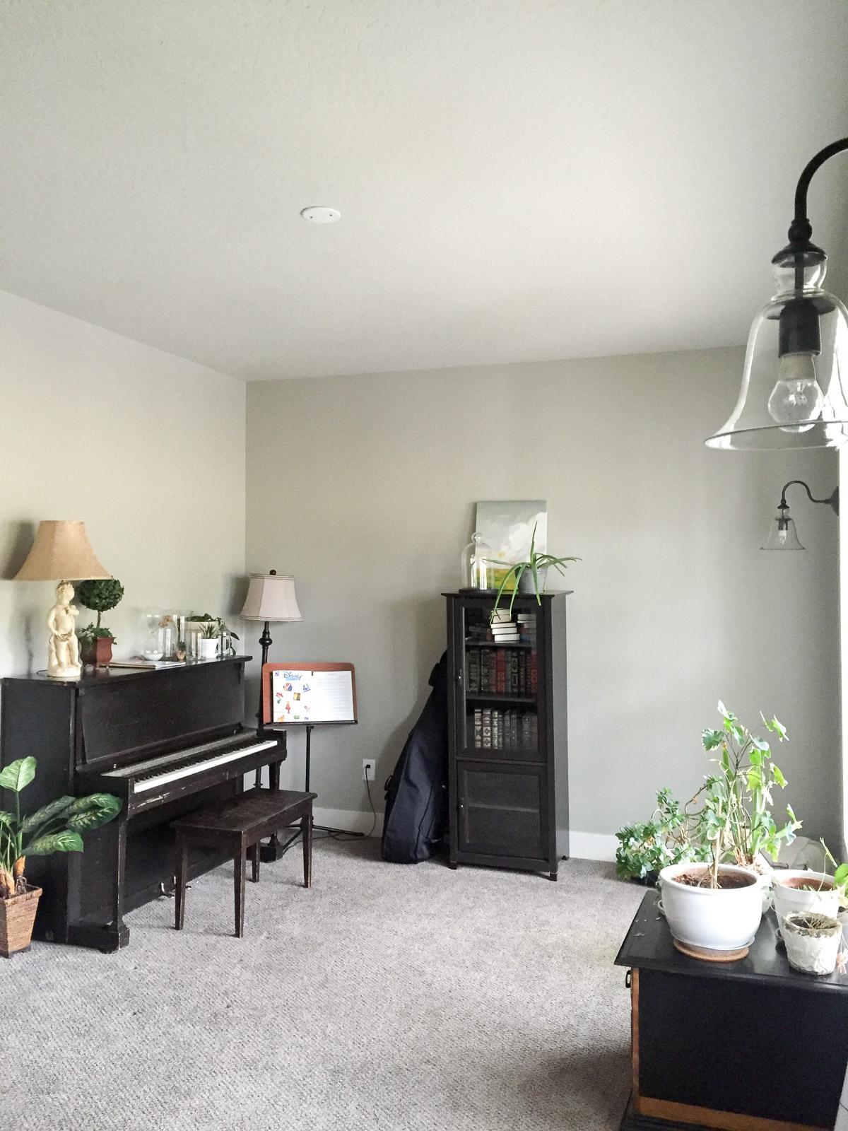 One Room Challenge, Week 1: Living Room Makeover - Lulu the Baker
