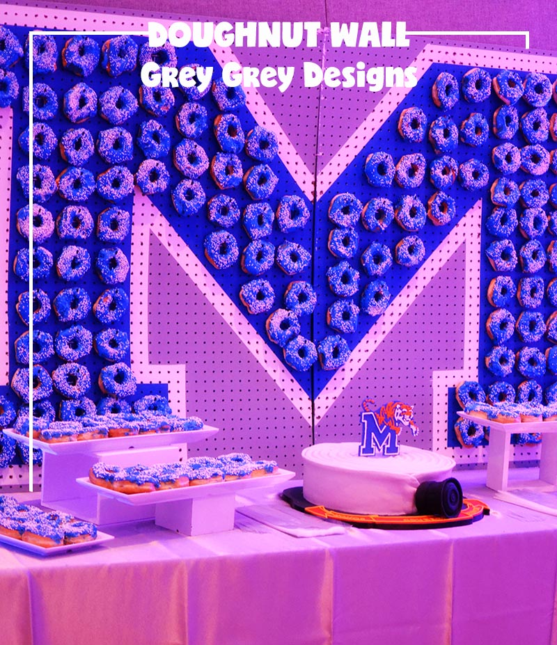 How to make a doughnut wall for your next party