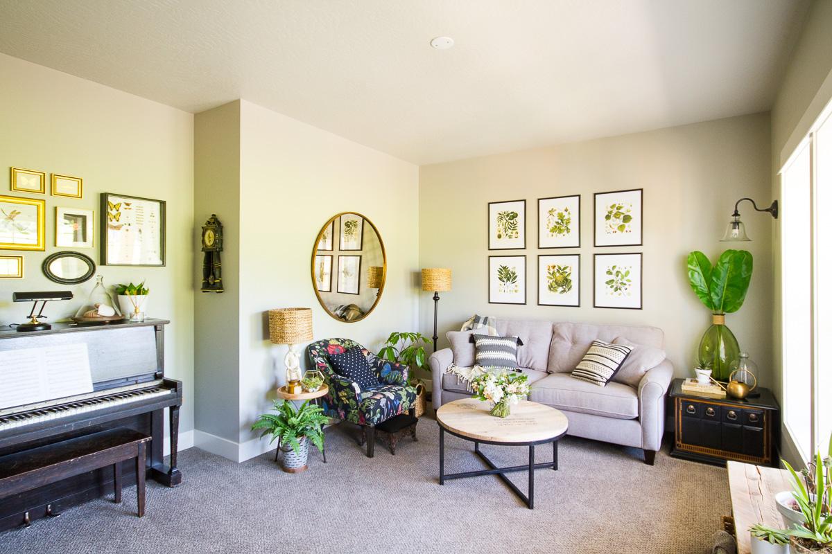 Living In One Room One Room Challenge Week 6 Living Room Reveal Lulu The Baker