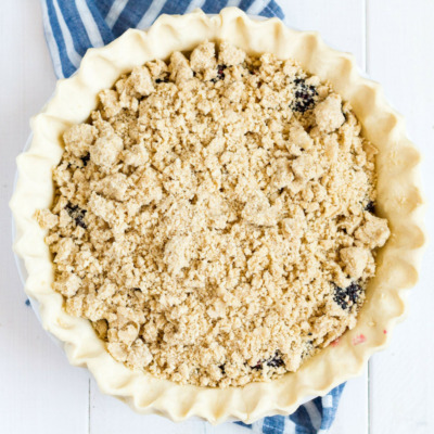 Make this yummy pie, filled with fresh summer berries, for dessert tonight!