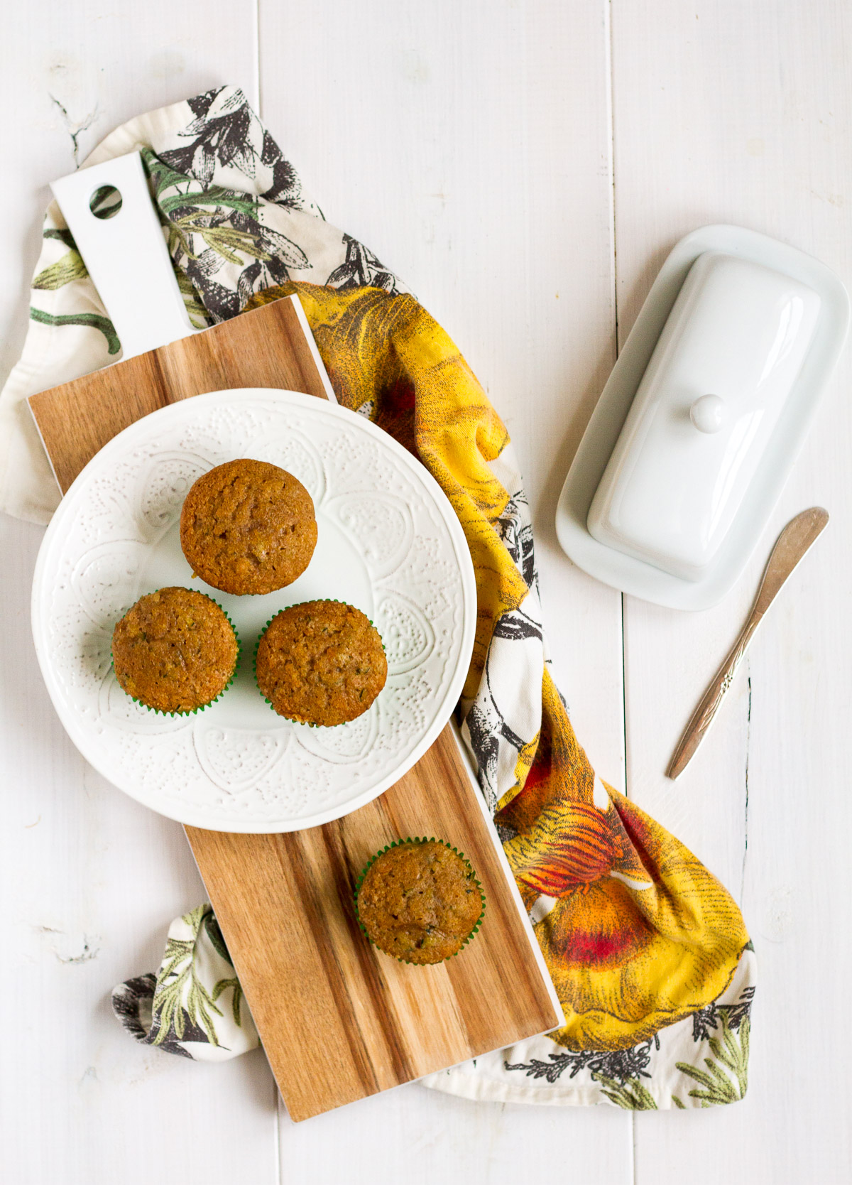 These easy zucchini muffins are a delicious way to use up all the delicious zucchini from your garden.