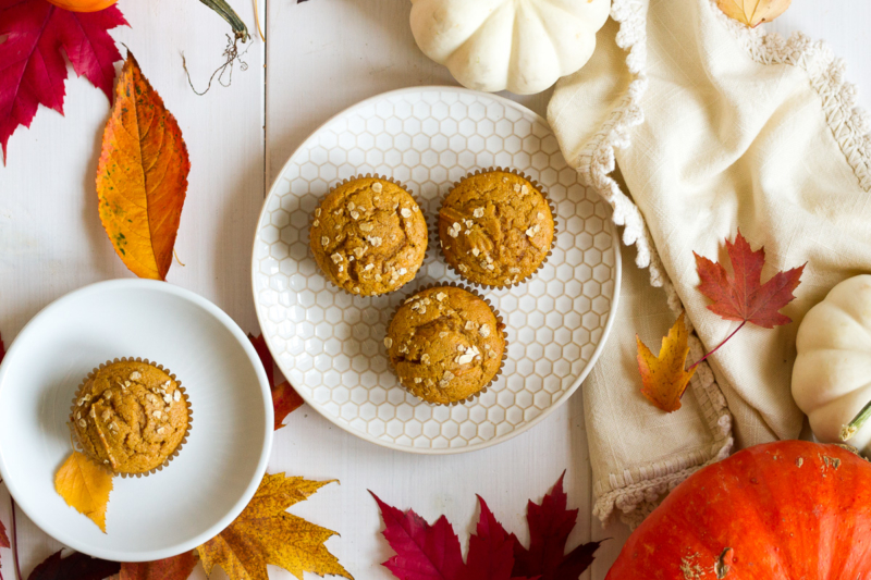 Ginger Spice Pumpkin Muffins