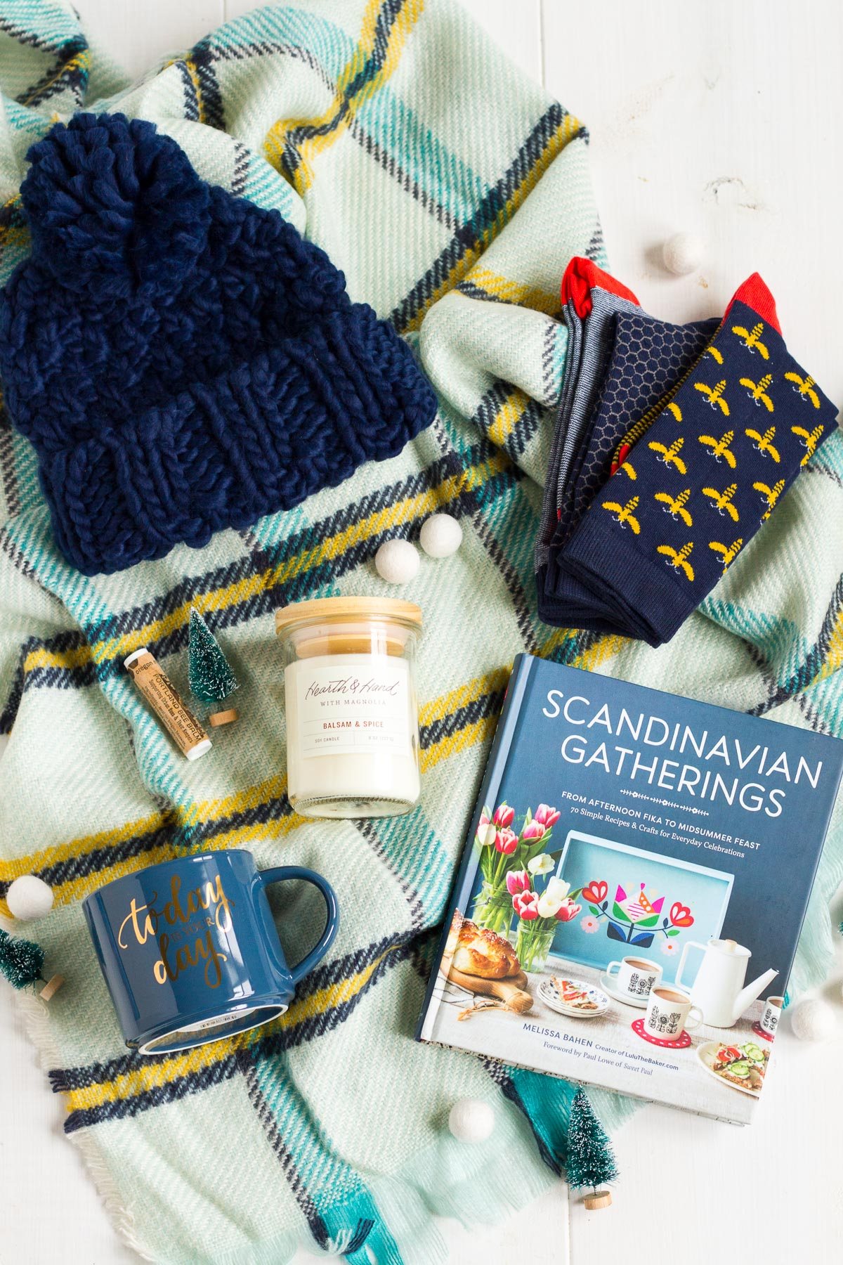 Enter to win a box of my cozy hygge favorites on the My Favorite Things Giveaway on Lulu the Baker today!