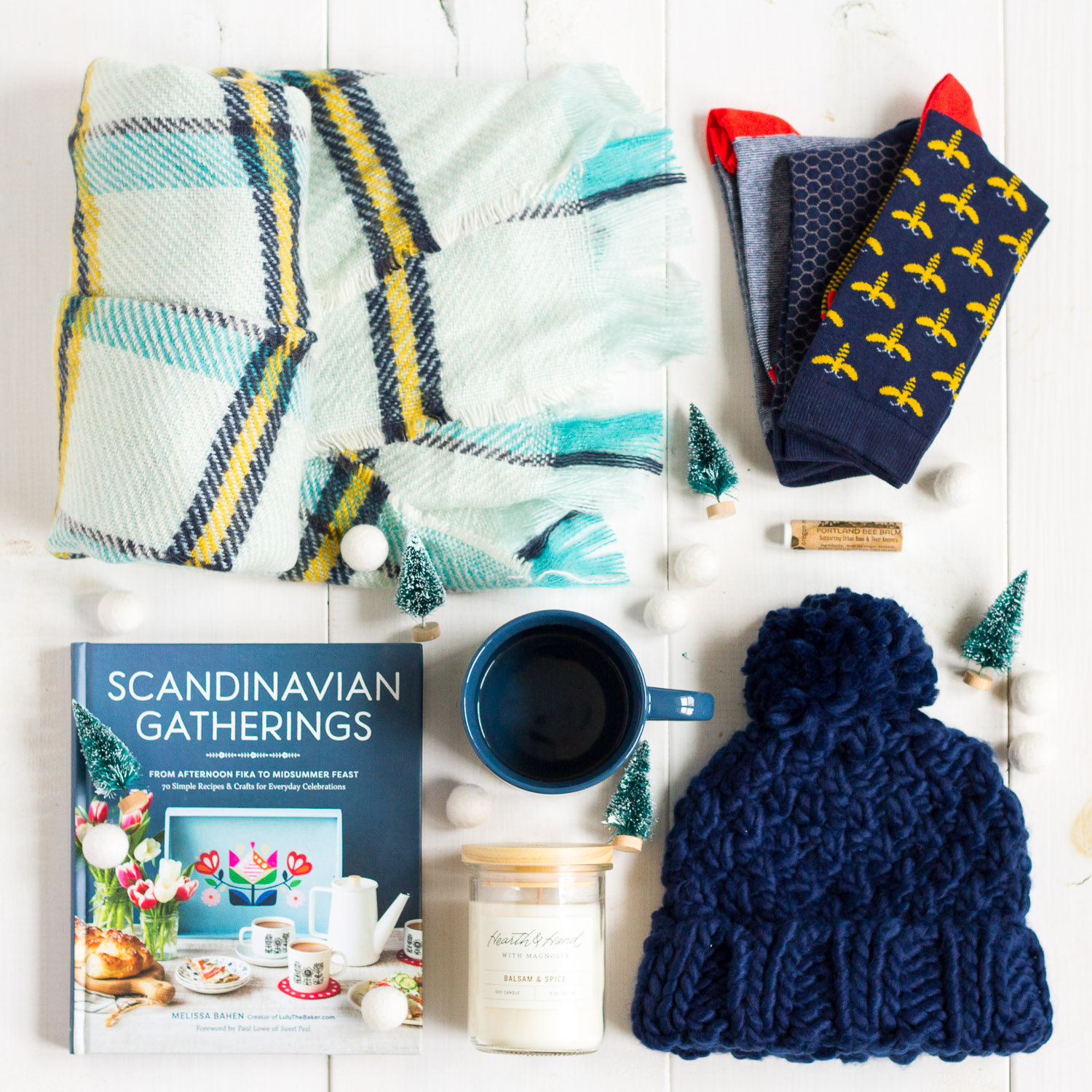 Win my cozy hygge favorites in the My Favorite Things Giveaway on Lulu the Baker right now!