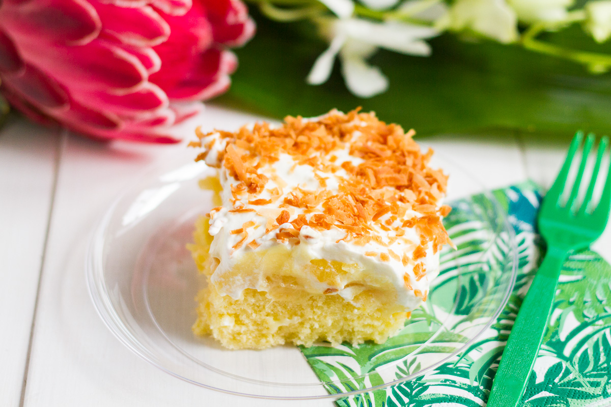 Hawaiian Party Cake