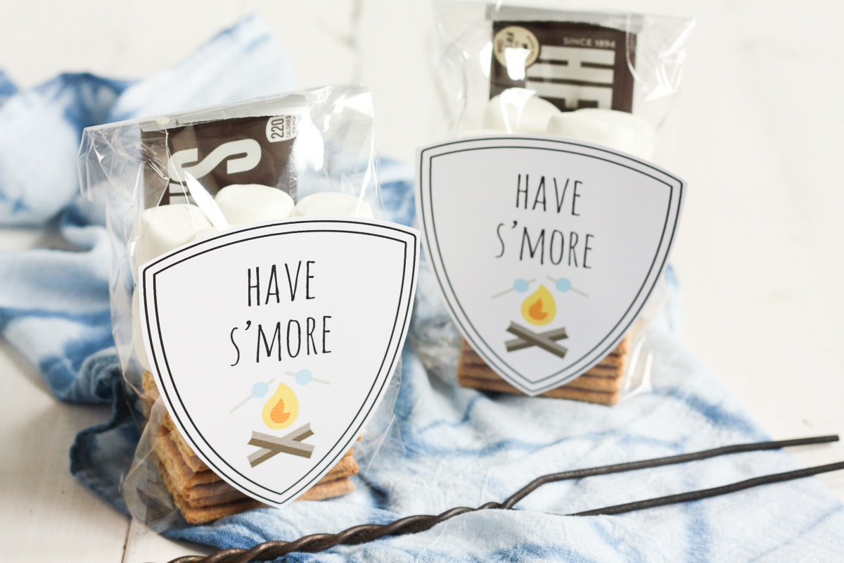 spread s'more love this summer by making these cute DIY s'mores kits for friends, family, and neighbors!