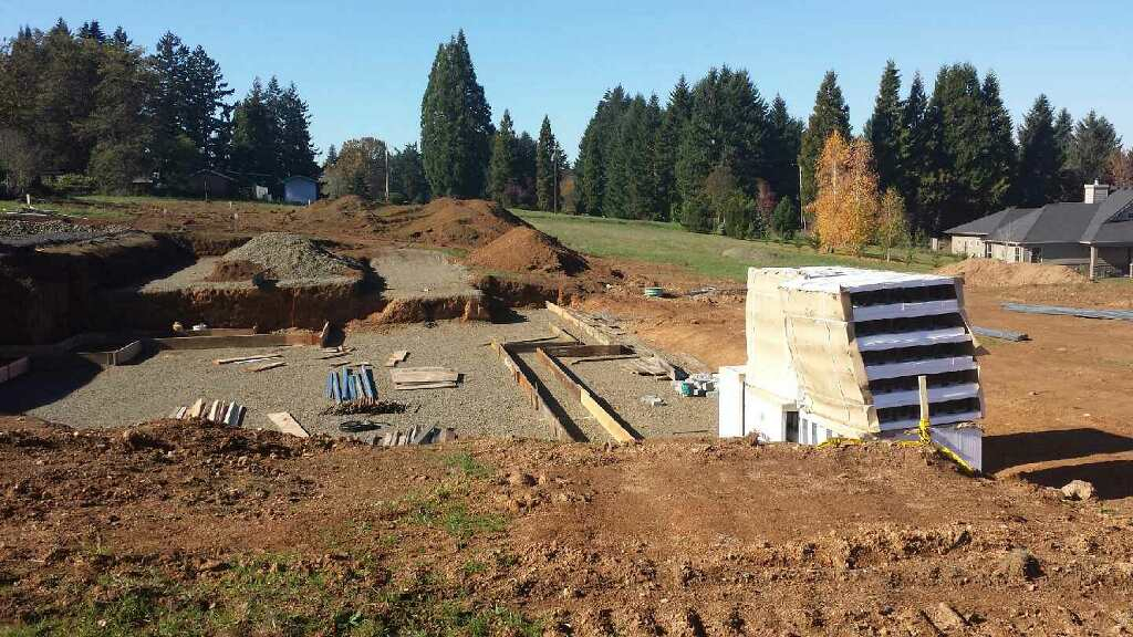 We went with ICF construction for the basement and main floor of our house. Read the full blog post to find out more about ICF.