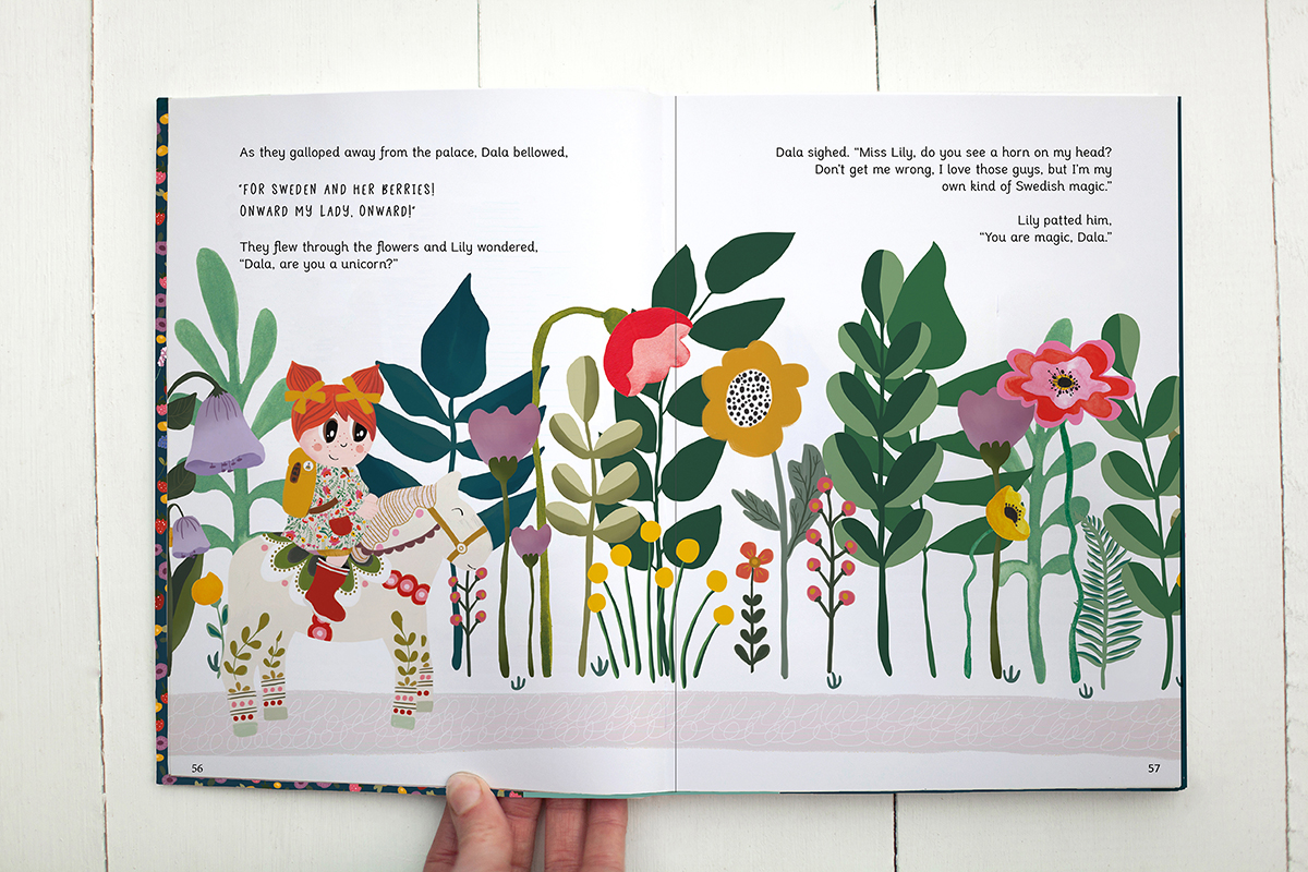 The Adventures of Lily Huckleberry in Scandinavia is a darling picture book for children.