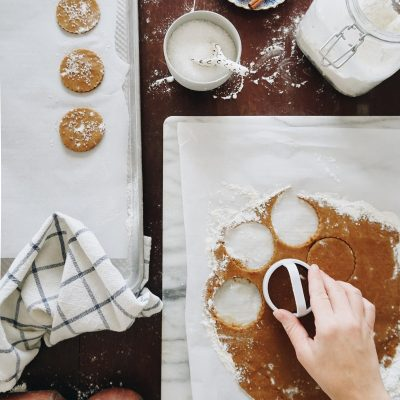 Get the recipe for these Sugared Gingersnaps from Scandinavian Gatherings!