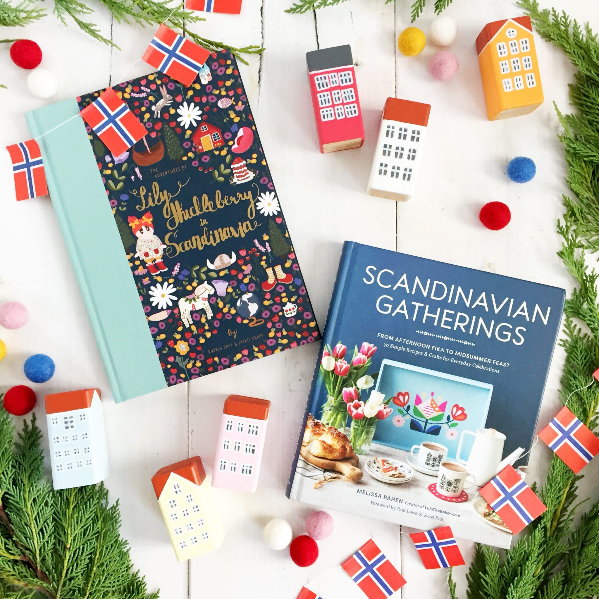 Scandinavian Gatherings and the Adventures of Lily Huckleberry in Scandinavia