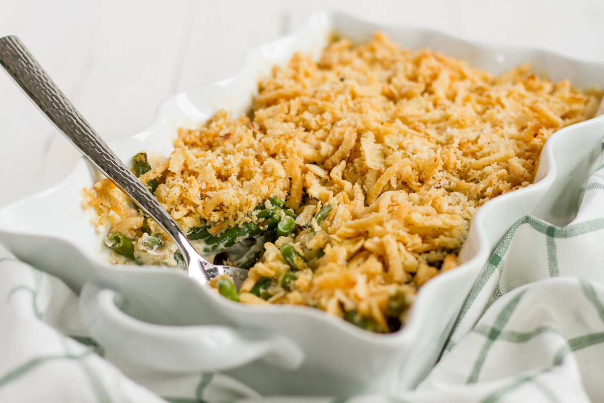 Green Bean Casserole is a Thanksgiving classic!