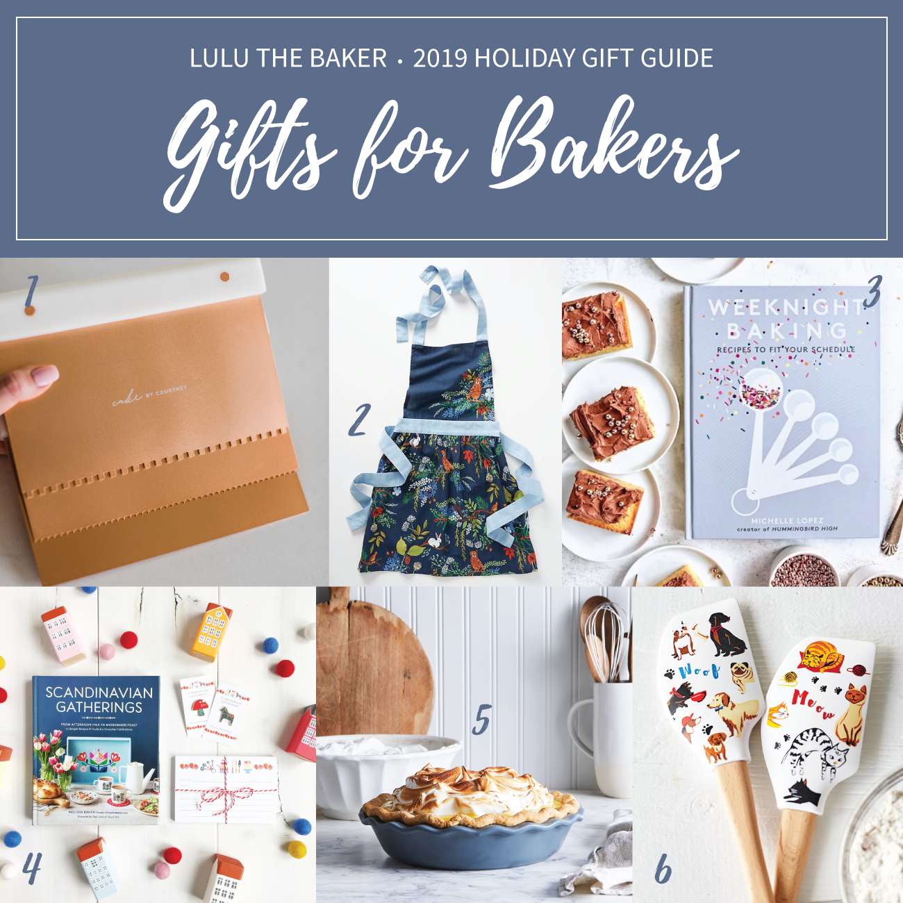 I've rounded up some of my favorite gifts for bakers! All of these items are ones I have and love or would love to have in my kitchen!