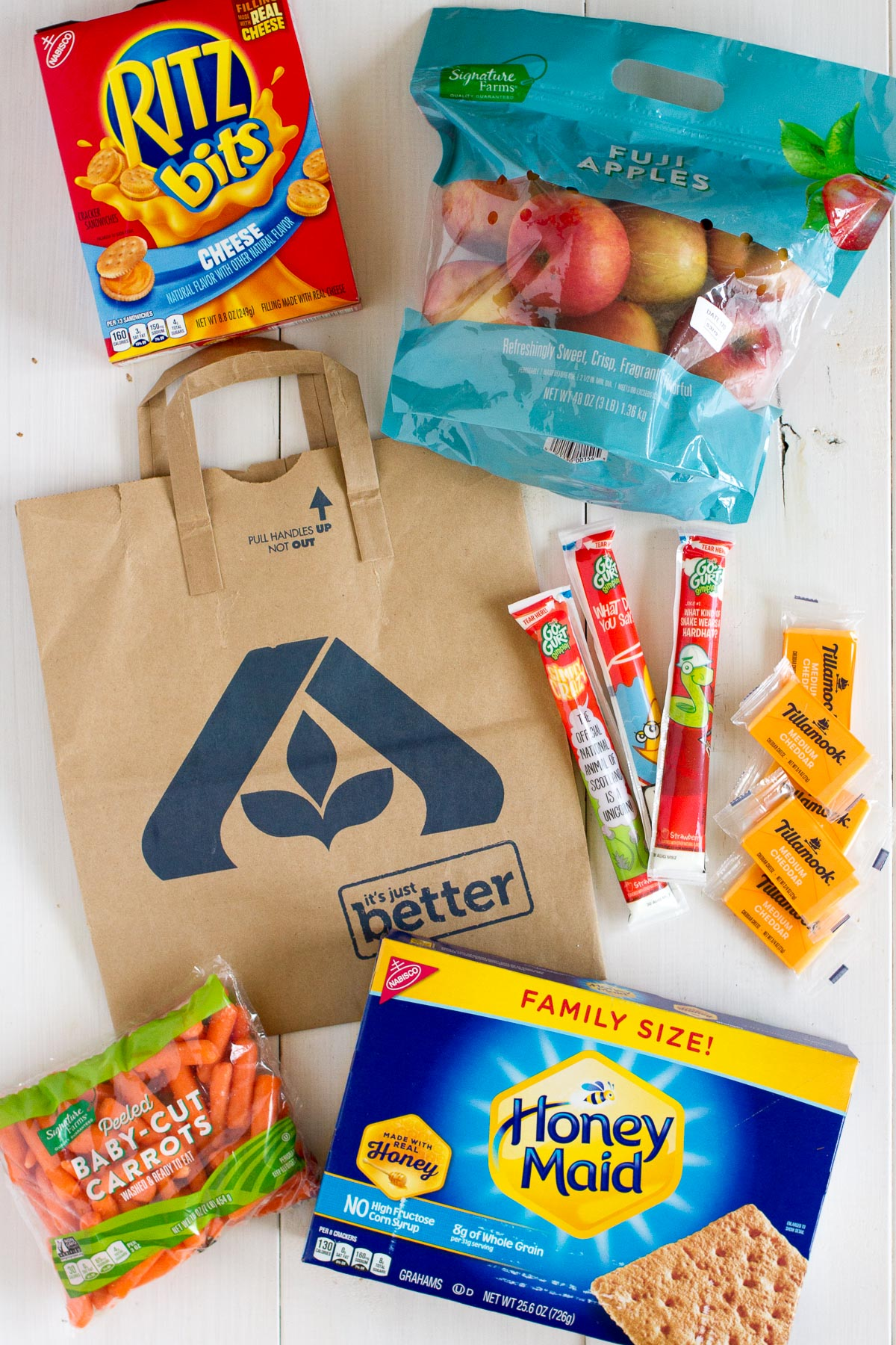 You can pick up all your favorite summer snack tray items at your local Albertsons store.