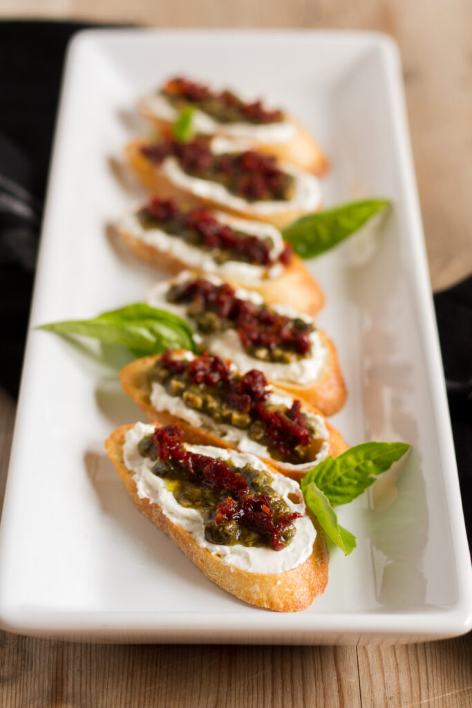 an easy and delicious crostini recipe