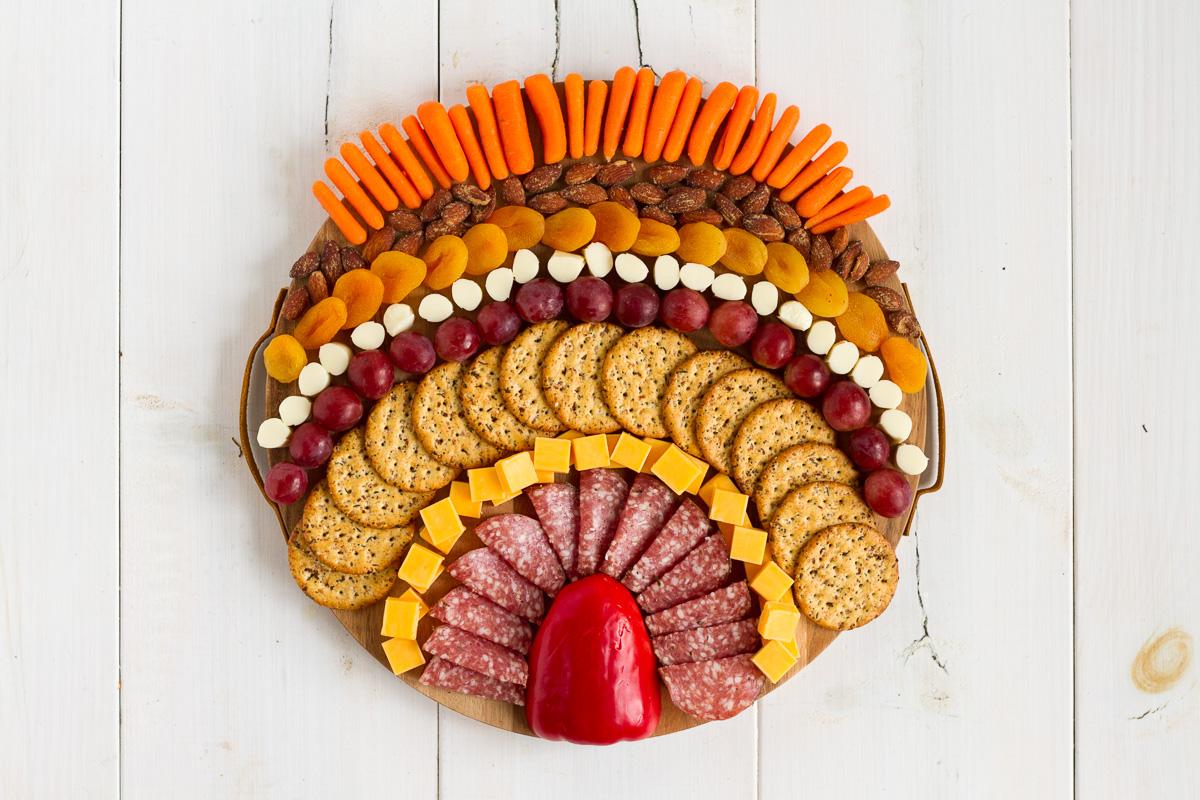 turkey charcuterie board
